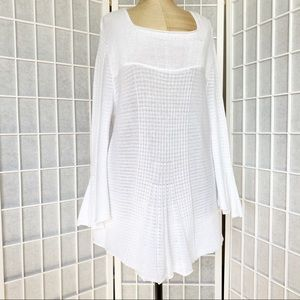 Parkhurst knitted cotton top